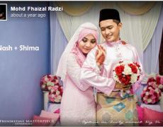 Akad Nash & Shima | Jurugambar Perkahwinan Sungai Petani, Kedah