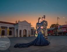 Jurugambar Perkahwinan Kedah | Outdoor wedding Shafie & Izawanie